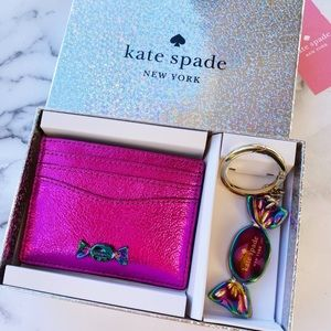 NewInBox🌸Kate Spade Cardholder and Key Chain